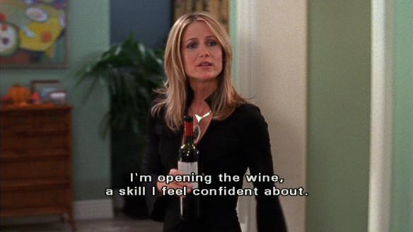 opening wine confidence