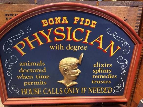 bonafide physician with degree